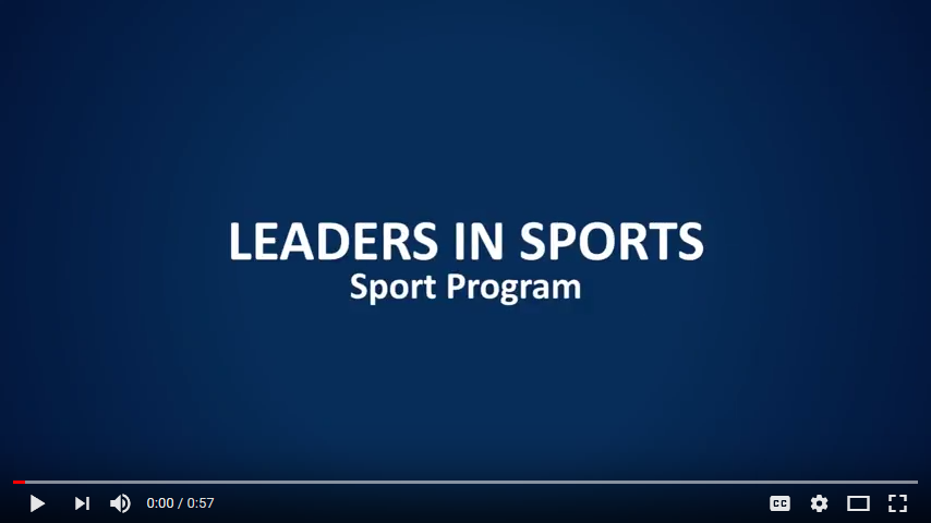 Leaders In Sport Program YouTube